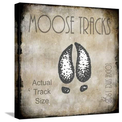 Moose Lodge 2 - Moose Tracks 2-LightBoxJournal-Stretched Canvas Print