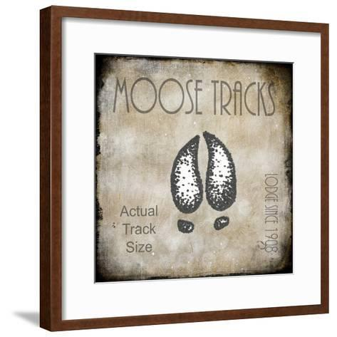 Moose Lodge 2 - Moose Tracks 2-LightBoxJournal-Framed Art Print