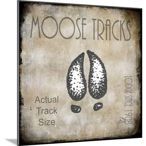 Moose Lodge 2 - Moose Tracks 2-LightBoxJournal-Mounted Giclee Print