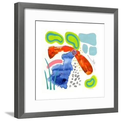 Koi Pond-Wyanne-Framed Art Print