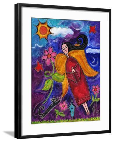 Primitive Angel-Wyanne-Framed Art Print