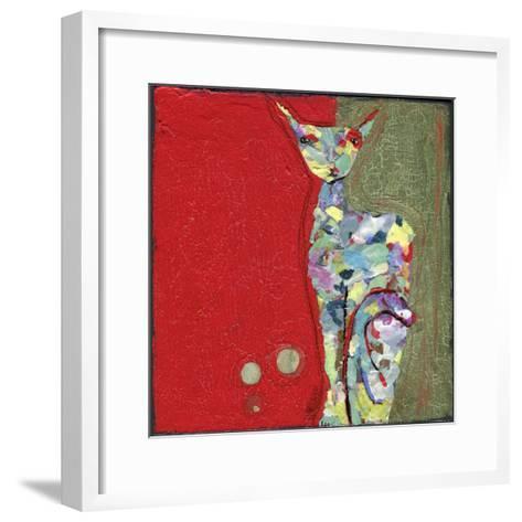 Three Cent Attitude-Wyanne-Framed Art Print