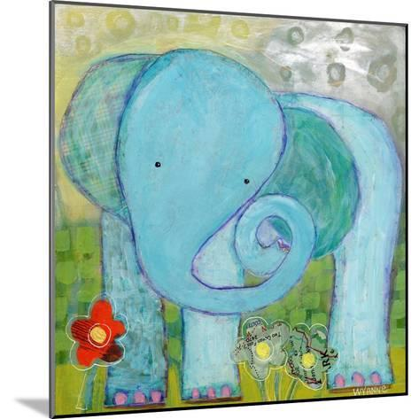 All Is Well Elephant-Wyanne-Mounted Giclee Print