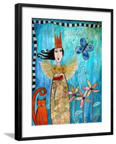 All Creatures Big and Small-Wyanne-Framed Art Print