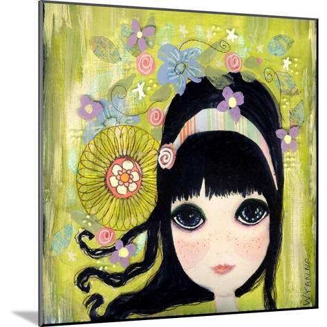 Big Eyed Girl Missing You-Wyanne-Mounted Giclee Print