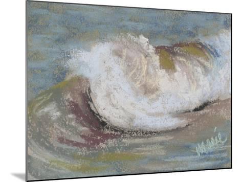 Wave Portrait No. 21-Marie Marfia Fine Art-Mounted Giclee Print