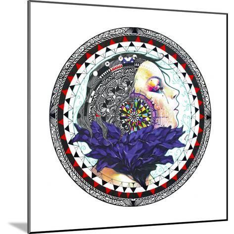 Taxidermy-Minjae-Mounted Giclee Print