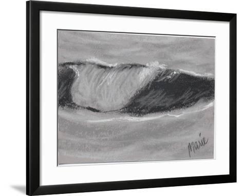 Wave Portrait No. 54-Marie Marfia Fine Art-Framed Art Print