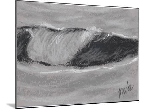 Wave Portrait No. 54-Marie Marfia Fine Art-Mounted Giclee Print