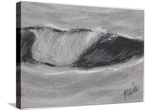 Wave Portrait No. 54-Marie Marfia Fine Art-Stretched Canvas Print