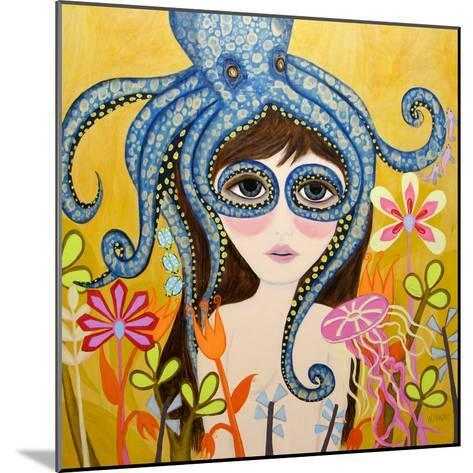 Big Eyed Girl She Can See Clearly Now-Wyanne-Mounted Giclee Print
