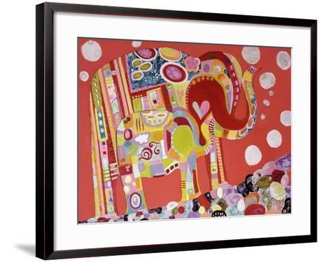 Two Elephants-Wyanne-Framed Art Print