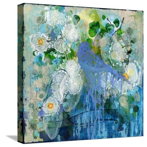 Bluebird Reflections-Wyanne-Stretched Canvas Print