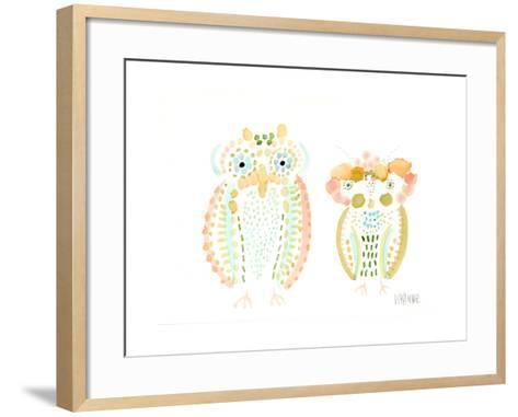 Birds of a Feather-Wyanne-Framed Art Print