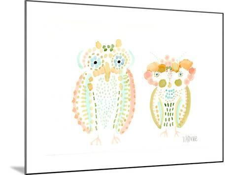 Birds of a Feather-Wyanne-Mounted Giclee Print