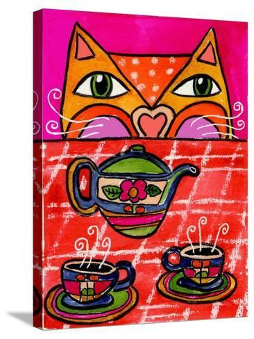 Uninvited Guest for Tea-Wyanne-Stretched Canvas Print