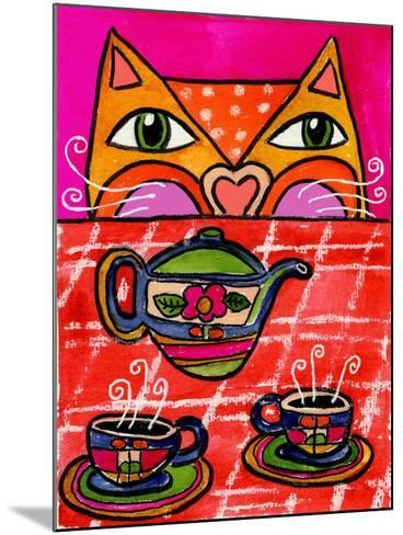 Uninvited Guest for Tea-Wyanne-Mounted Giclee Print