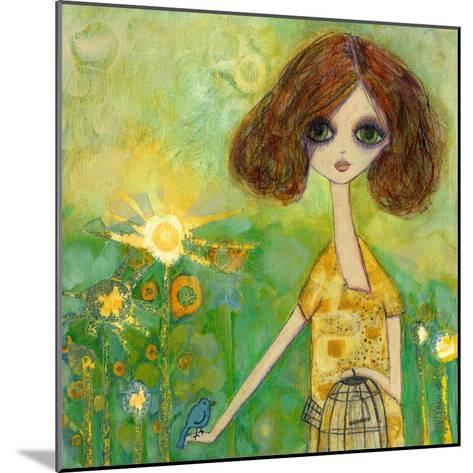 Big Eyed Girl Should You Stay or Should You Go-Wyanne-Mounted Giclee Print