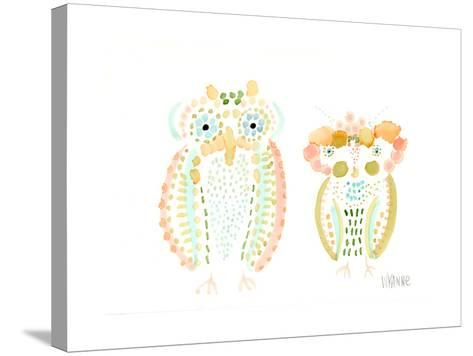 Birds of a Feather-Wyanne-Stretched Canvas Print
