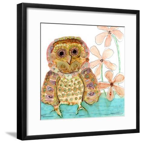 Baby Owl-Wyanne-Framed Art Print