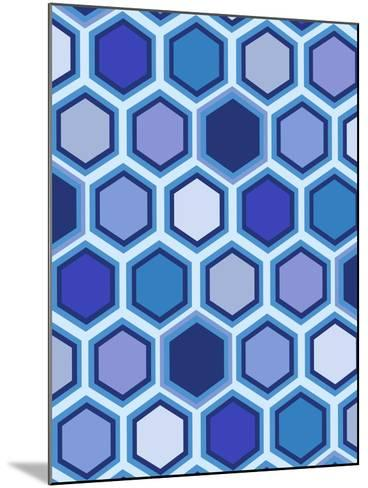 Cool Blue 3-Art Licensing Studio-Mounted Giclee Print