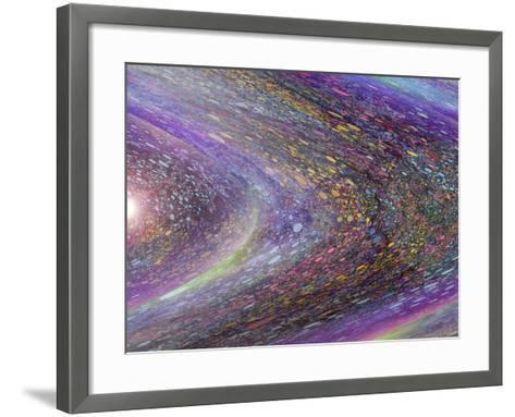 Race around the Sun-MusicDreamerArt-Framed Art Print