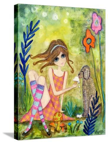 Big Eyed Girl the Charmer-Wyanne-Stretched Canvas Print