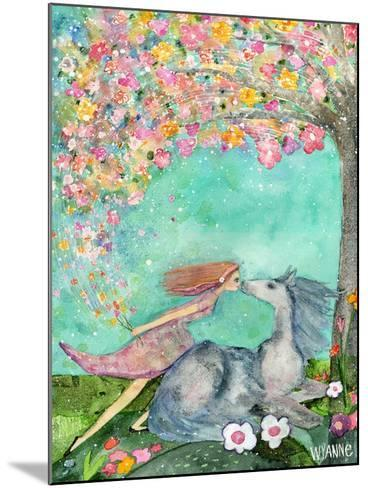 Big Eyed Girl the Promise-Wyanne-Mounted Giclee Print