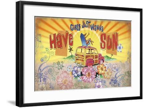 Girls Wanna Sun- James and Kathleen Mazzotta-Framed Art Print