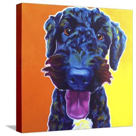 Fletcher-Dawgart-Stretched Canvas Print