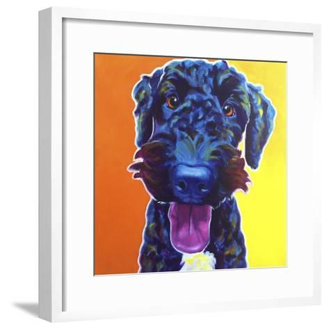 Fletcher-Dawgart-Framed Art Print