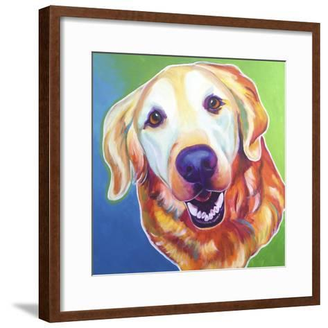 Daisy Mae-Dawgart-Framed Art Print
