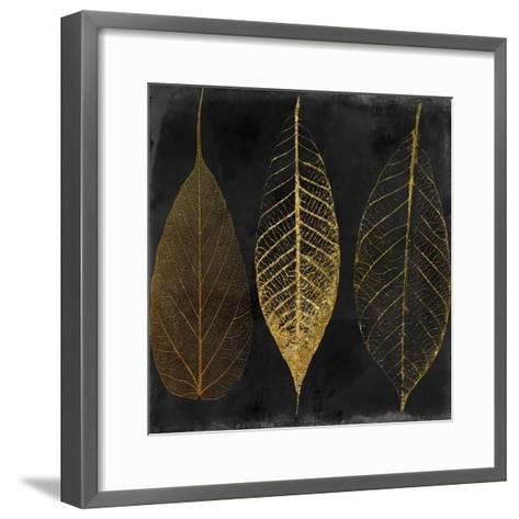 Fallen Gold I-Color Bakery-Framed Art Print