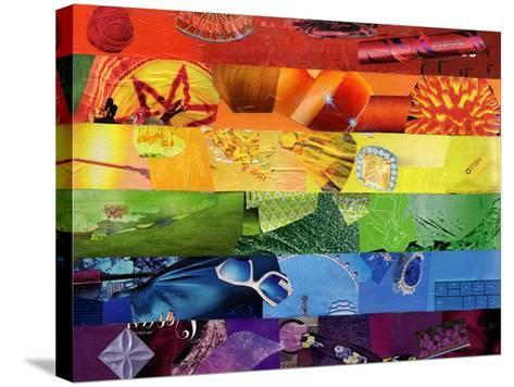 Gay-Artpoptart-Stretched Canvas Print