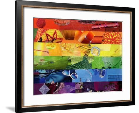 Gay-Artpoptart-Framed Art Print