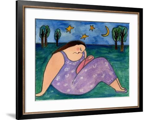 Big Diva Early Evening-Wyanne-Framed Art Print