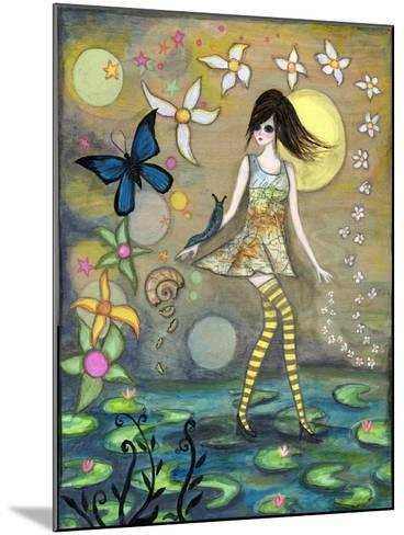Big Eyed Girl Truth-Wyanne-Mounted Giclee Print