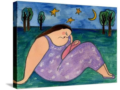 Big Diva Early Evening-Wyanne-Stretched Canvas Print