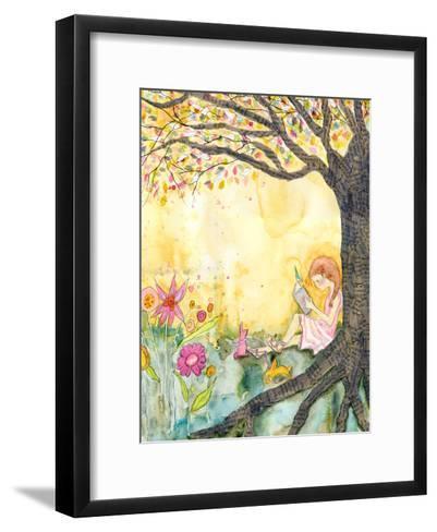 Book Nook-Wyanne-Framed Art Print