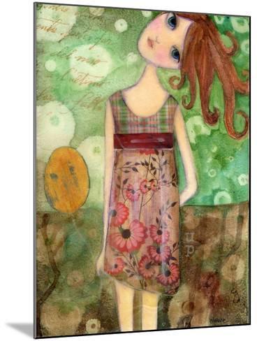Big Eyed Girl Up-Wyanne-Mounted Giclee Print