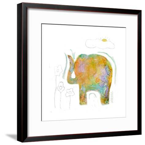 Always Sunny-Wyanne-Framed Art Print