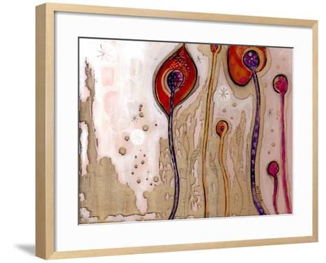 December Flowers-Wyanne-Framed Art Print