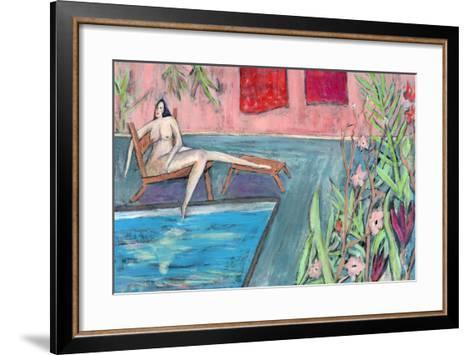 Big Diva Nude - Seeking-Wyanne-Framed Art Print