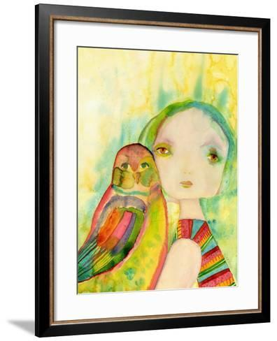 Kind-Wyanne-Framed Art Print