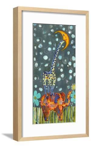 Kiss the Moon-Wyanne-Framed Art Print