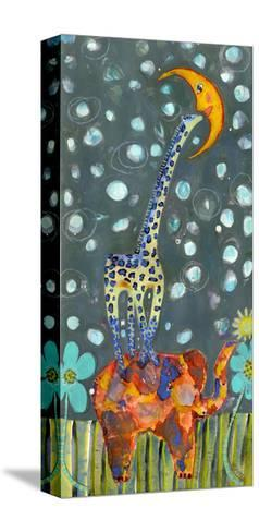 Kiss the Moon-Wyanne-Stretched Canvas Print