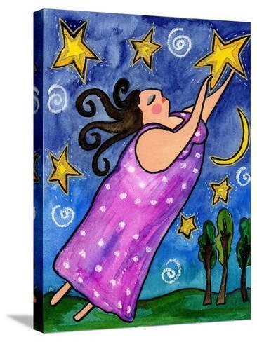 Big Diva Reach for the Stars-Wyanne-Stretched Canvas Print