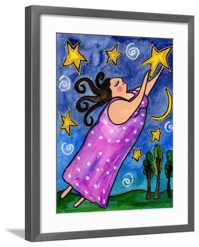 Big Diva Reach For The Stars Giclee Print By Wyanne Art