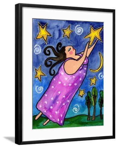 Big Diva Reach for the Stars-Wyanne-Framed Art Print