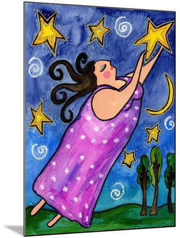 Big Diva Reach for the Stars-Wyanne-Mounted Giclee Print